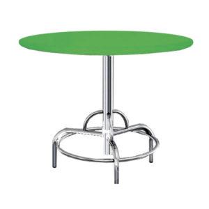 Столы из ДСП облицованной пластиком каркас хром