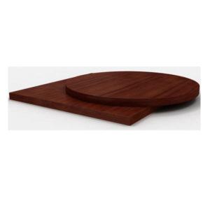 Столешницы облицованные натуральным шпоном толщиной 40 мм