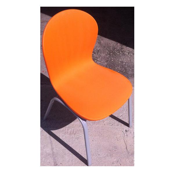 Стул-Каспер-оранжевый