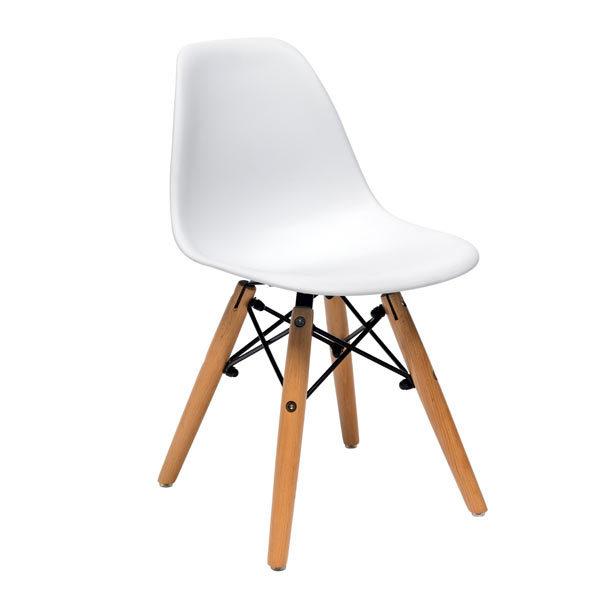 Стул-Eames-D-детский-белый
