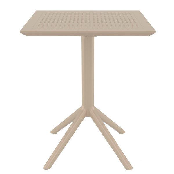 стол-Скай-60-бежевый