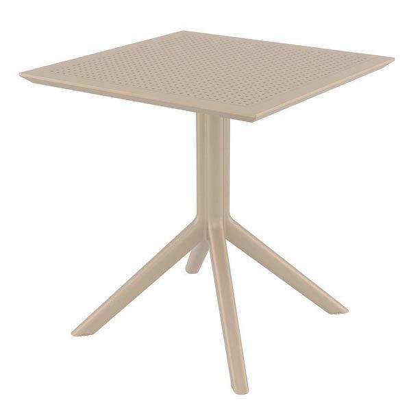 стол-Скай-70-бежевый