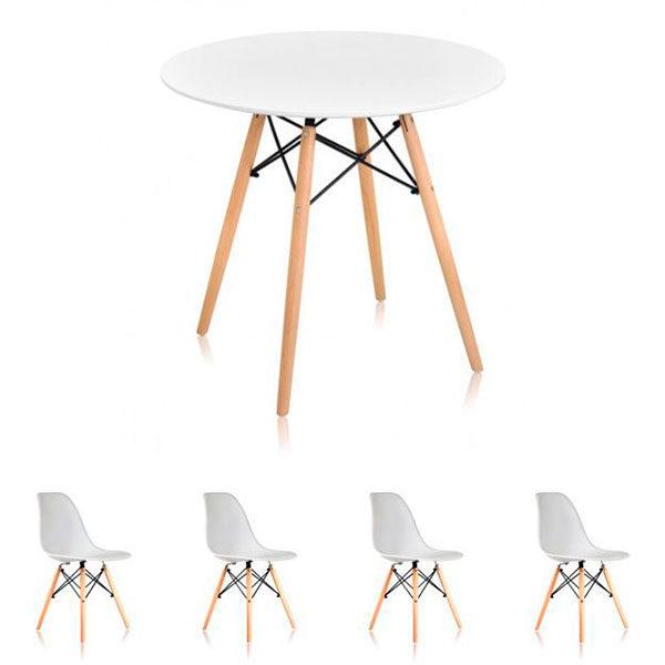 Стол-и-стулья-Eames