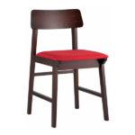 Стул-деревянный-Oden-красный